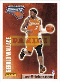 Gerald Wallace (Charlotte Bobcats) (Decals)