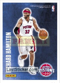 Richard Hamilton (Detroit Pistons) (Decals)