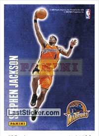 Stephen Jackson (Golden State Warriors) (Decals)