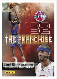 Richard Hamilton (Detroit Pistons) (The Franchise)