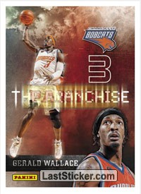 Gerald Wallace (Charlotte Bobcats) (The Franchise)