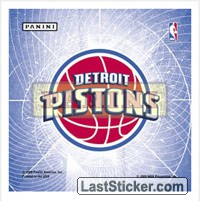 Detroit Pistons (GID Stickers)