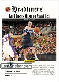 Jason Kidd (Dallas Mavericks) (Headliners)