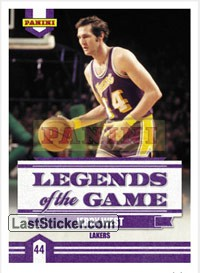 Jerry West (Los Angeles Lakers) (Legends of the Game)