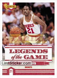 Sleepy Floyd (Houston Rockets) (Legends of the Game)