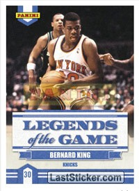 Bernard King (New York Knicks) (Legends of the Game)