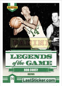 Bob Cousy (Boston Celtics) (Legends of the Game)