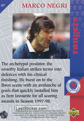 Marco Negri (Magic and Magicians) - Back