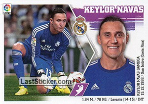 Keylor Navas (4) (Real Madrid)