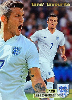 Jack Wilshere (Fans' Favourite - England)