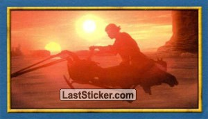 Speeder at sundown