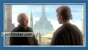 Palpatine encourages Anakin
