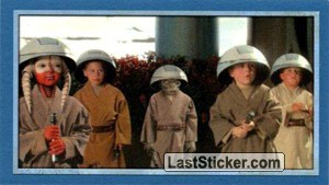 Youngest Jedi at ease