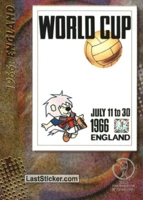 1966: England (Official posters)