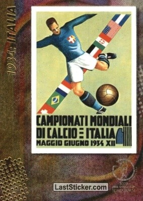 1934: Italia (Official posters)