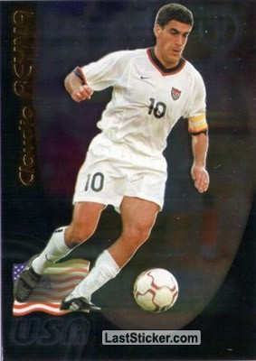 Claudio Reyna (USA exclusive inserts)