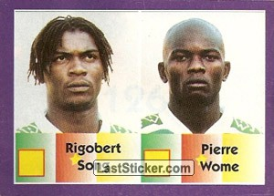 Rigobert Song/Pierre Wome (Cameroon)