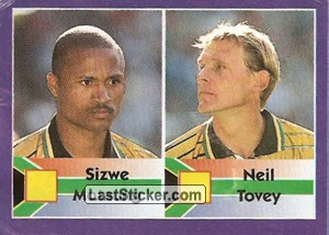 Sizwe Motaung/Neil Tovey (South Africa)