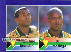 Augustine Brendan/Phil Masinga (South Africa)