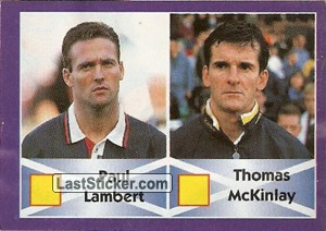 Paul Lambert/Thomas McKinlay (Scotland)