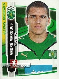 Andre Marques(Sporting) (Ultimas Aquisicoes)