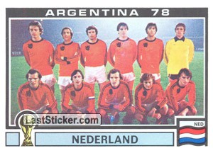 Nederlamd Team (WC 1978)