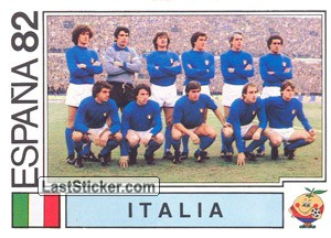 Italy Team (WC 1982)
