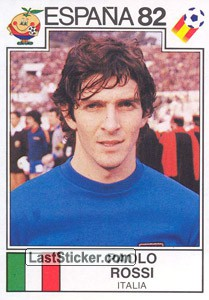 Paolo Rossi (Italy) (WC 1982)