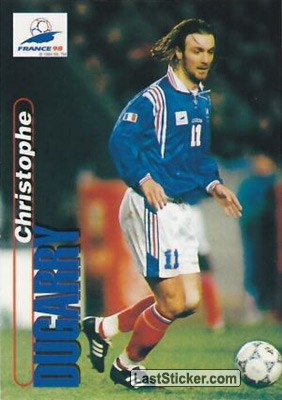 Christophe Dugarry (France)