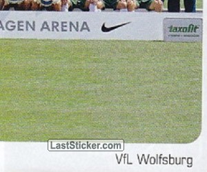 Team Sticker (puzzle) (VfL WOLFSBURG)