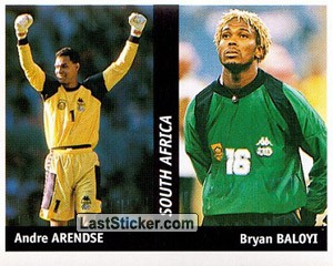 Andre Arendse/Bryan Baloyi (South Africa)