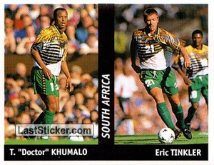 "T. ""Doctor"" Khumalo/Eric Tinkler (South Africa)"