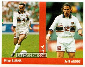 Mike Burns/Jeff Agoos (U.S.A.)