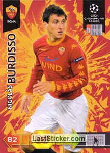 Nicolas Burdisso (AS Roma)