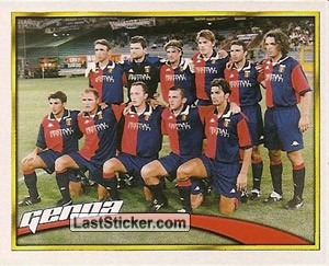 La Squadra (Genoa Cricket and Football club s.p.a.)