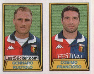 Gennaro Ruotolo/Cosimo Francioso (Genoa Cricket and Football club s.p.a.)