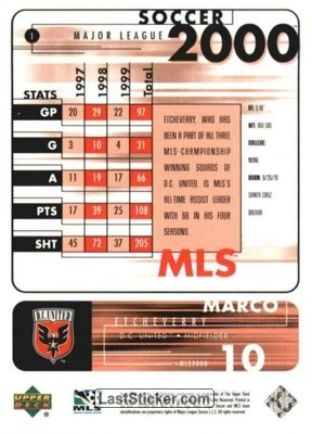 Marco Etcheverry (D.C. United) - Back