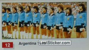 Argentina (Winner Team Photo WC-1978) (History of the World Cup)