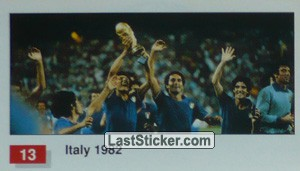 Italy (Winner Team Photo WC-1982) (History of the World Cup)