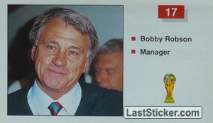 Bobby Robson (Manager) (England)