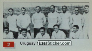 Uruguay (Winner Team Photo WC-1930) (History of the World Cup)