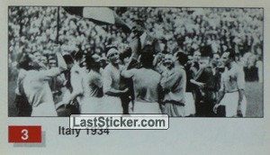 Italy (Winner Team Photo WC-1934) (History of the World Cup)