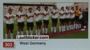 West Germany Team Photo (West Germany)