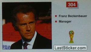 Franz Beclenbauer (Manager) (West Germany)