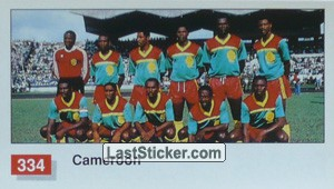 Cameroon Team Photo (Cameroon)