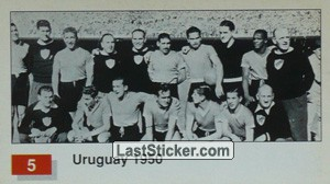 Uruguay (Winner Team Photo WC-1950) (History of the World Cup)