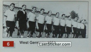 West Germany (Winner Team Photo WC-1954) (History of the World Cup)