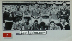 Brazil (Winner Team Photo WC-1958) (History of the World Cup)