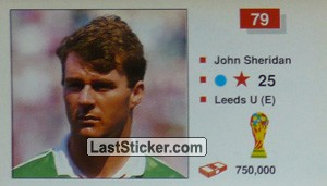 John Sheridan (Republic of Ireland)