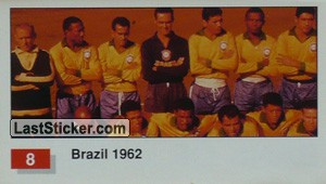 Brazil (Winner Team Photo WC-1962) (History of the World Cup)